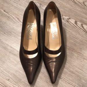 Ferraganmo heels size 91/2